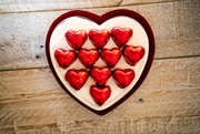 6th Feb 2019 - Chocolate stole my heart