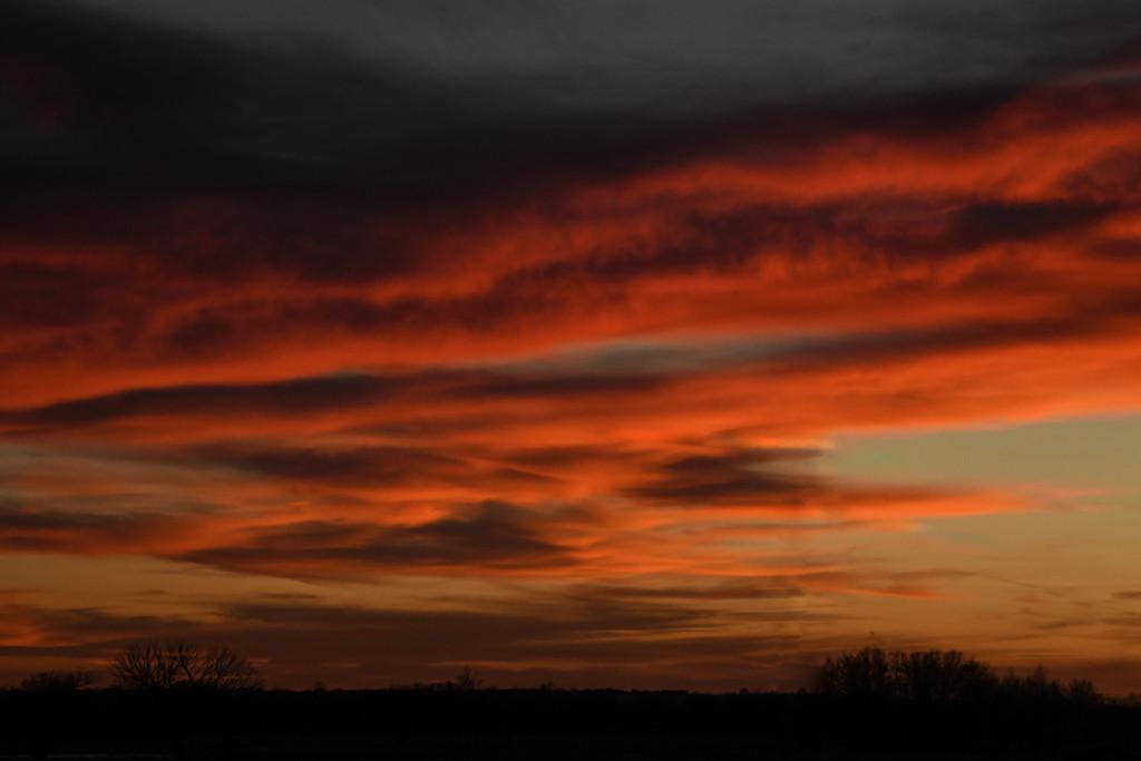 Kansas Sunset 2-4-19 by kareenking