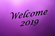 1st Jan 2019 - 2019 01 01 Welcome 2019