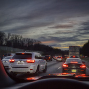 8th Feb 2019 - Traffic Jam