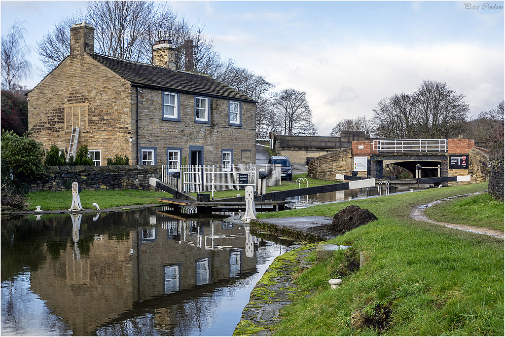 Lock No1 Mirfield by pcoulson