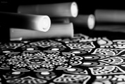 10th Feb 2019 - Colouring in black and white