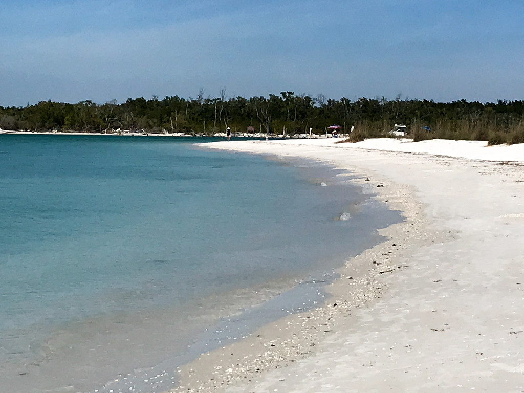 Big Hickory Island Beach by christinemgrote