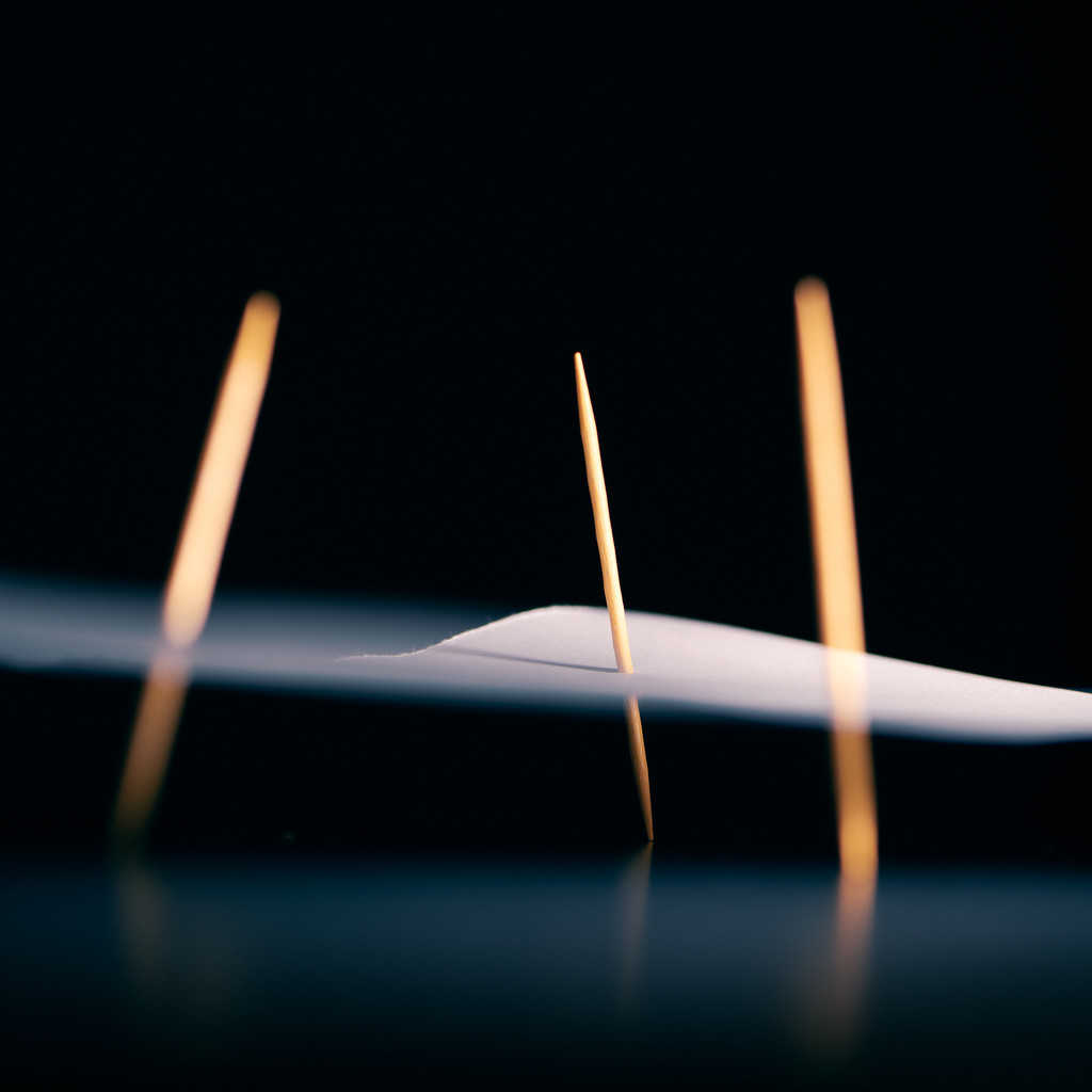 Paper and Toothpicks by thedarkroom