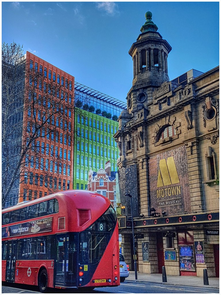 Colourful London by lyndamcg