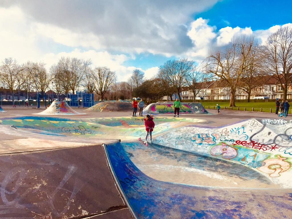 Skate park by lilaclisa