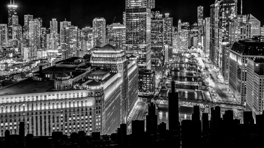 Chicago Skyline in Chicago Skyline by taffy
