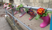 12th Feb 2019 - Boots and Flowers