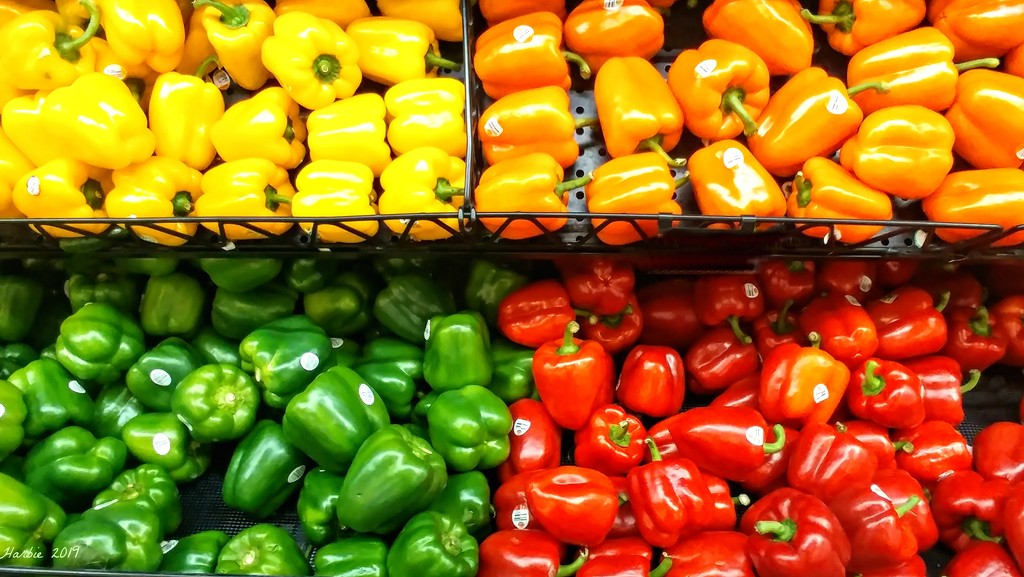Colorful Peppers by harbie