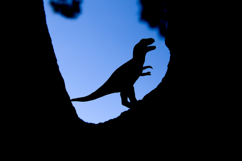 (Day 327) - King of the Dinosaurs by cjphoto