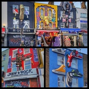 13th Feb 2019 - A collage of some of the brilliant shop fronts on way to Camden market