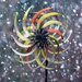 Whirligig in a snowstorm!