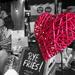 Brough Market - flash of red by bizziebeeme