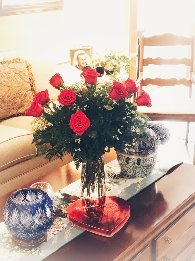 Valentine's at our home ❤️ by louannwarren