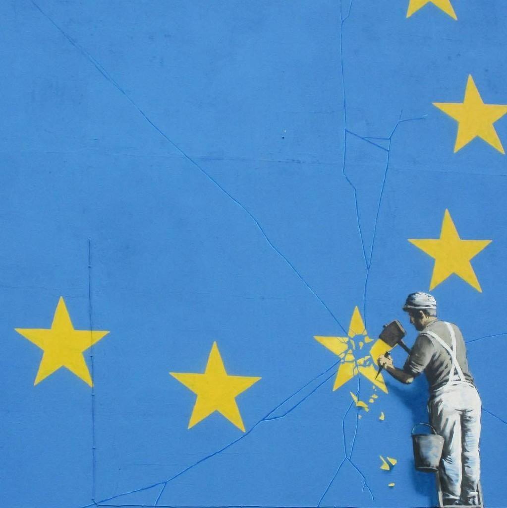 The destructive Brexit process  [Not my photo] by ivan