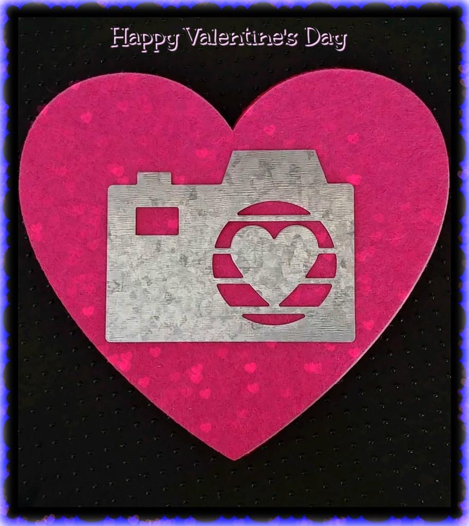 Valentine's Day Camera Heart  by jo38