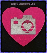 14th Feb 2019 - Valentine's Day Camera Heart