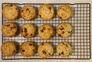 14th Feb 2019 - Chocolate Chip Banana Muffins