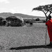 A Masai Flash of Red