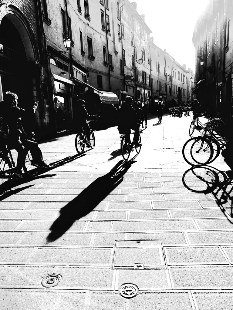 Ferrara, city of bicycles by caterina