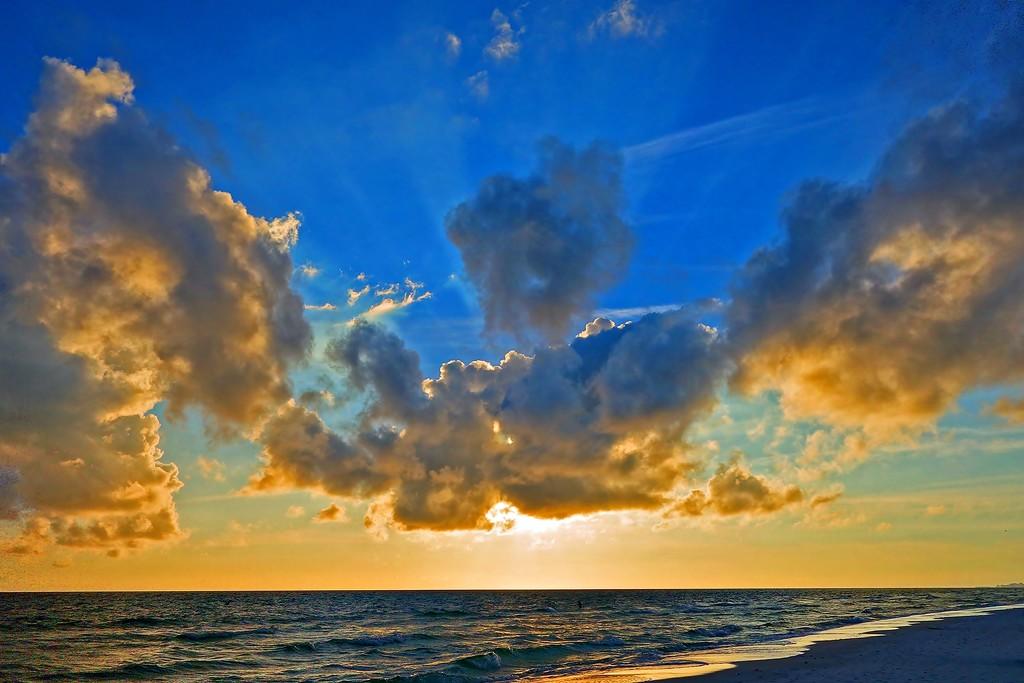 Beach Sunset by soboy5