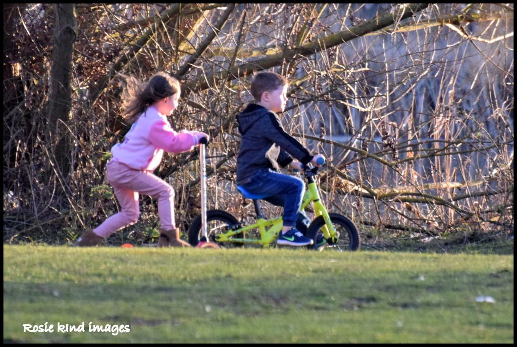 Children having fun by rosiekind