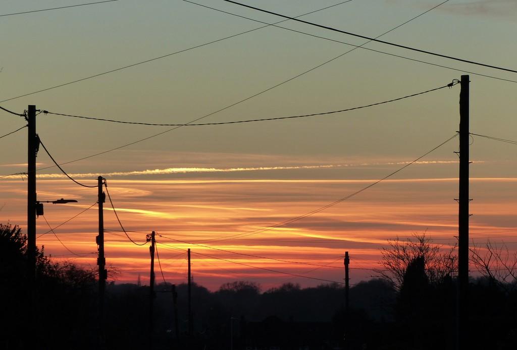 Sunset lines by jokristina