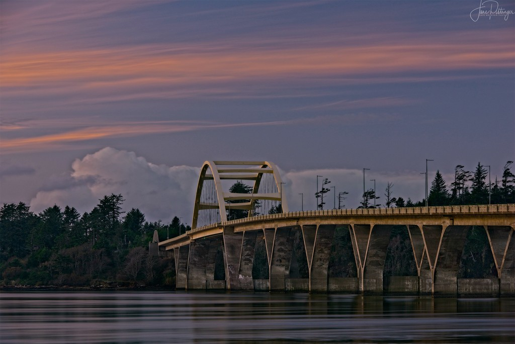 Waldport Bridge Remake by jgpittenger