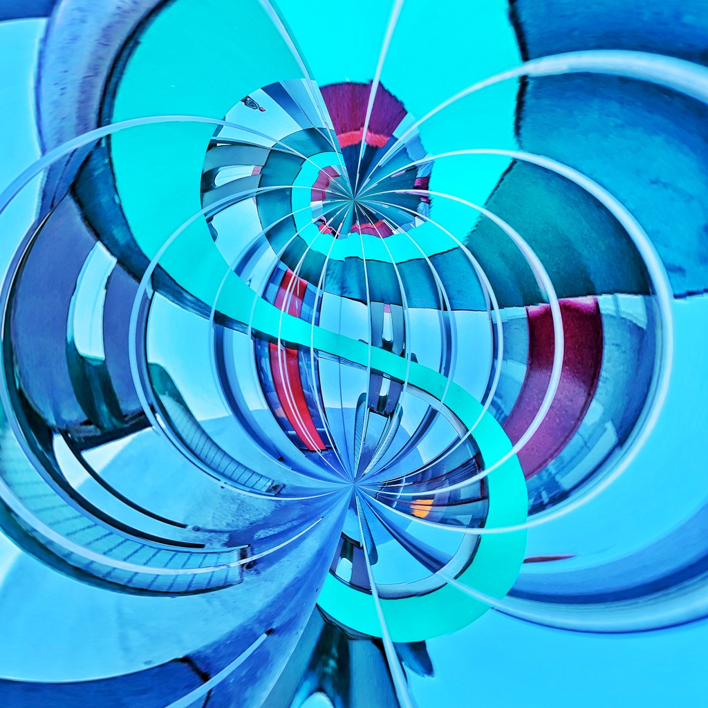 Blue abstract.  by cocobella