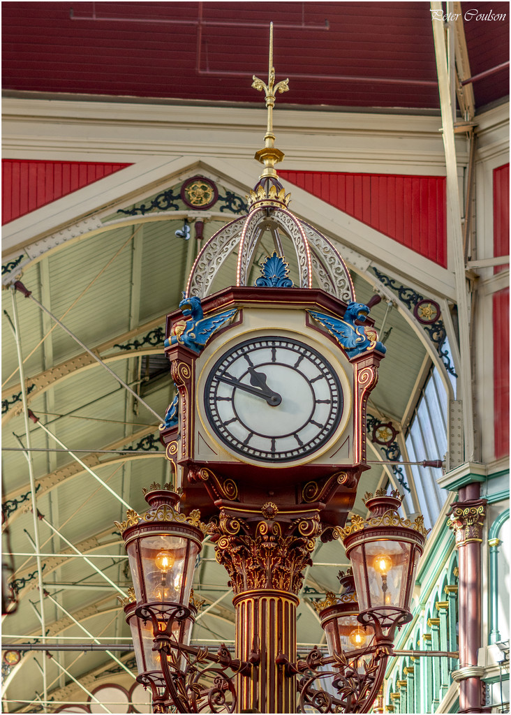 Market Clock by pcoulson