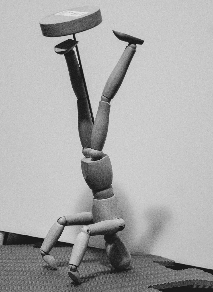 Pose #6, headstand by randystreat