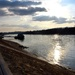 In the afternoon on the bank of the Danube