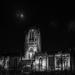 Illuminated cathedral