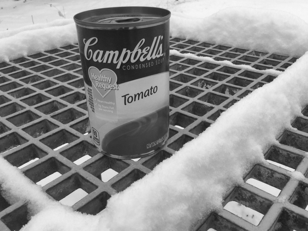 Soup can #7 by mcsiegle
