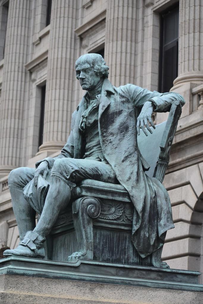 Thomas Jefferson by yentlski