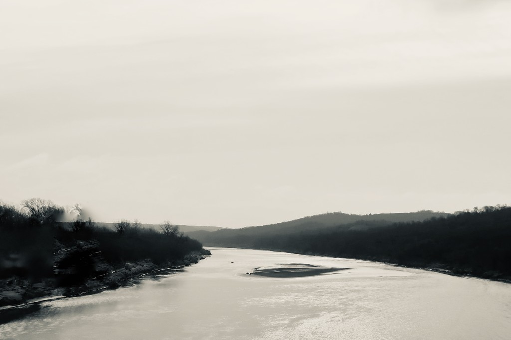 The Red River as a leading line by louannwarren