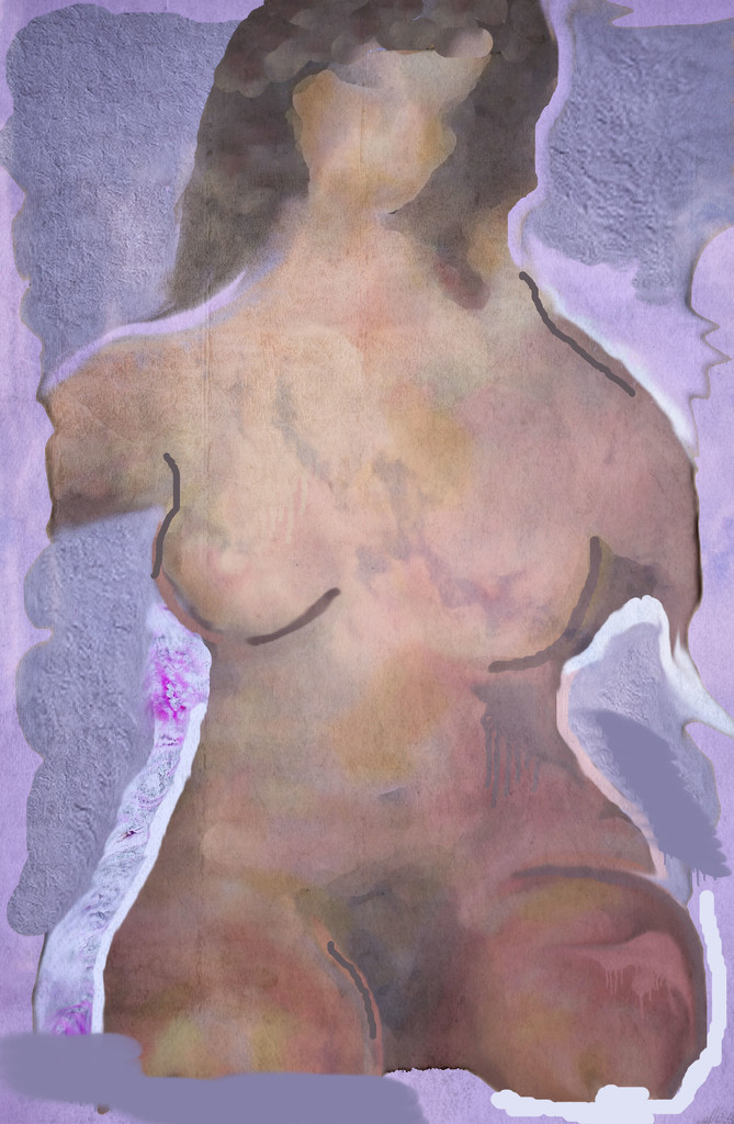 Artist Challenge - Georgia Totto O'Keeffe - nude by annied