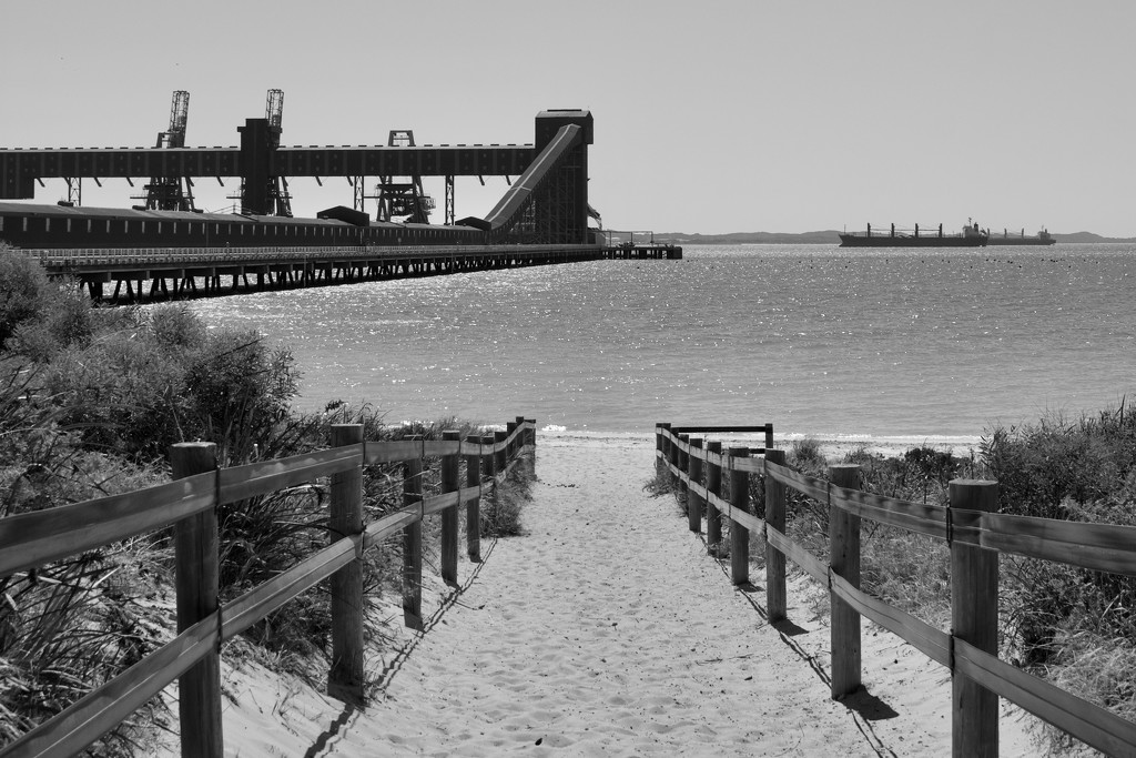 Leading To The Beach.._DSC6233 by merrelyn