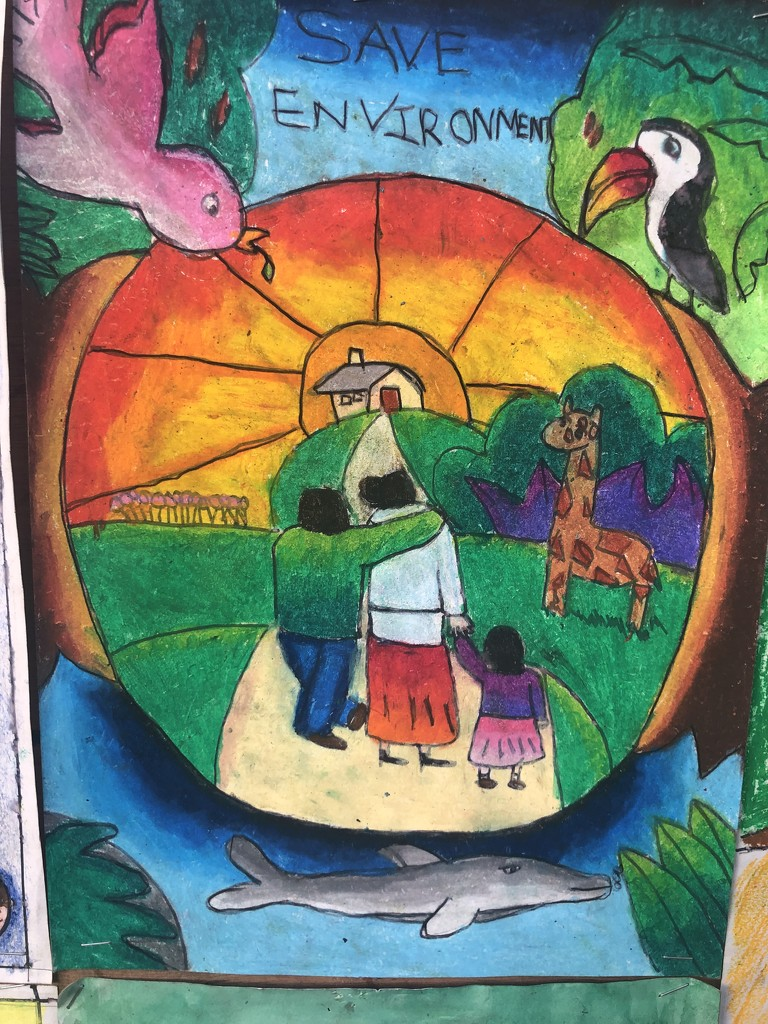 Art competition at our park by veengupta