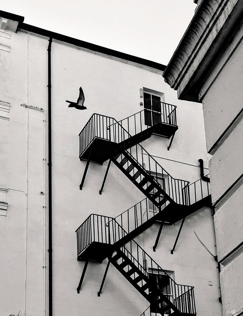 Fire Escape by 4rky