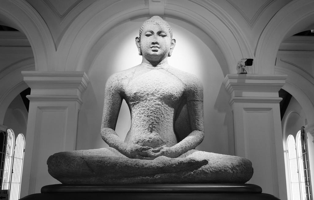 The Buddha, meditating by golftragic