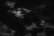 20th Feb 2019 - Super Moon Peeks Out