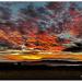 Mottled sky ...