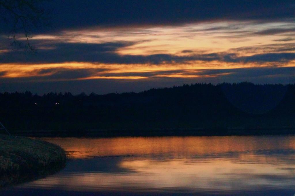 sunset by gijsje