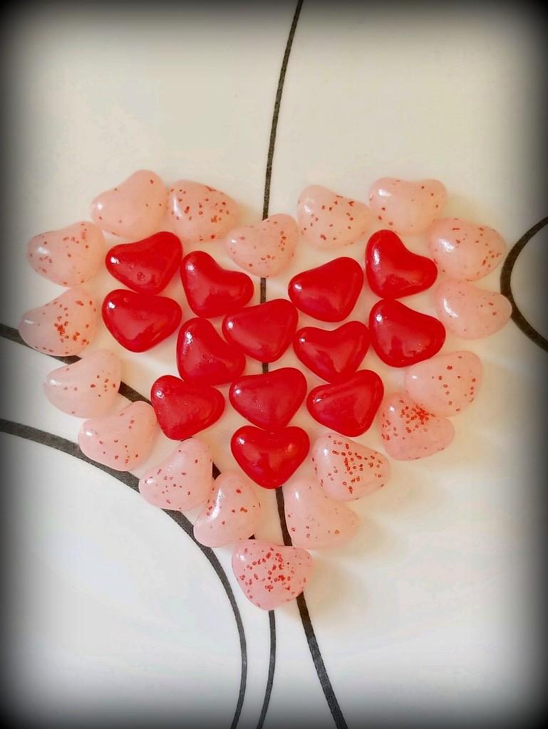 Jelly Bean Heart  by jo38