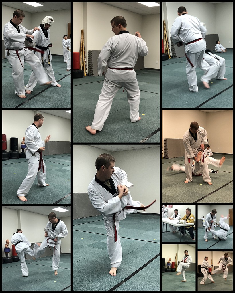 1st Dan Black Belt Test by homeschoolmom