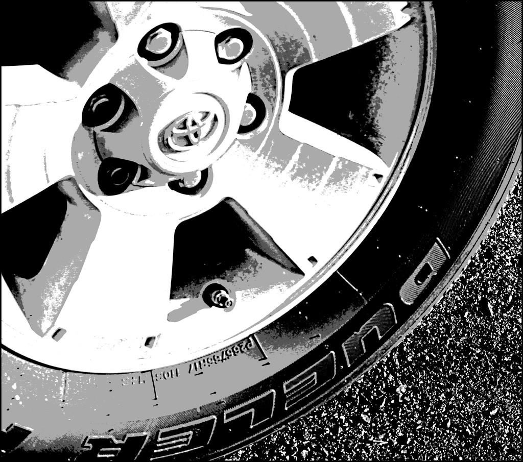 Wheel by olivetreeann