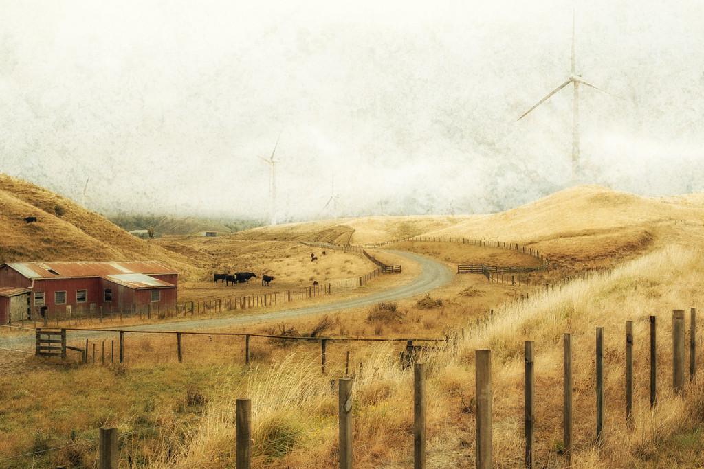 Misty Farm by helenw2