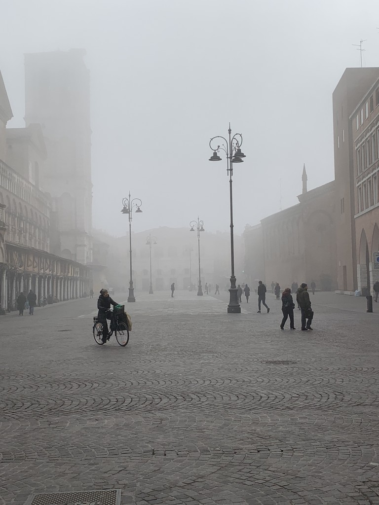 Ferrara, city of fog! by caterina