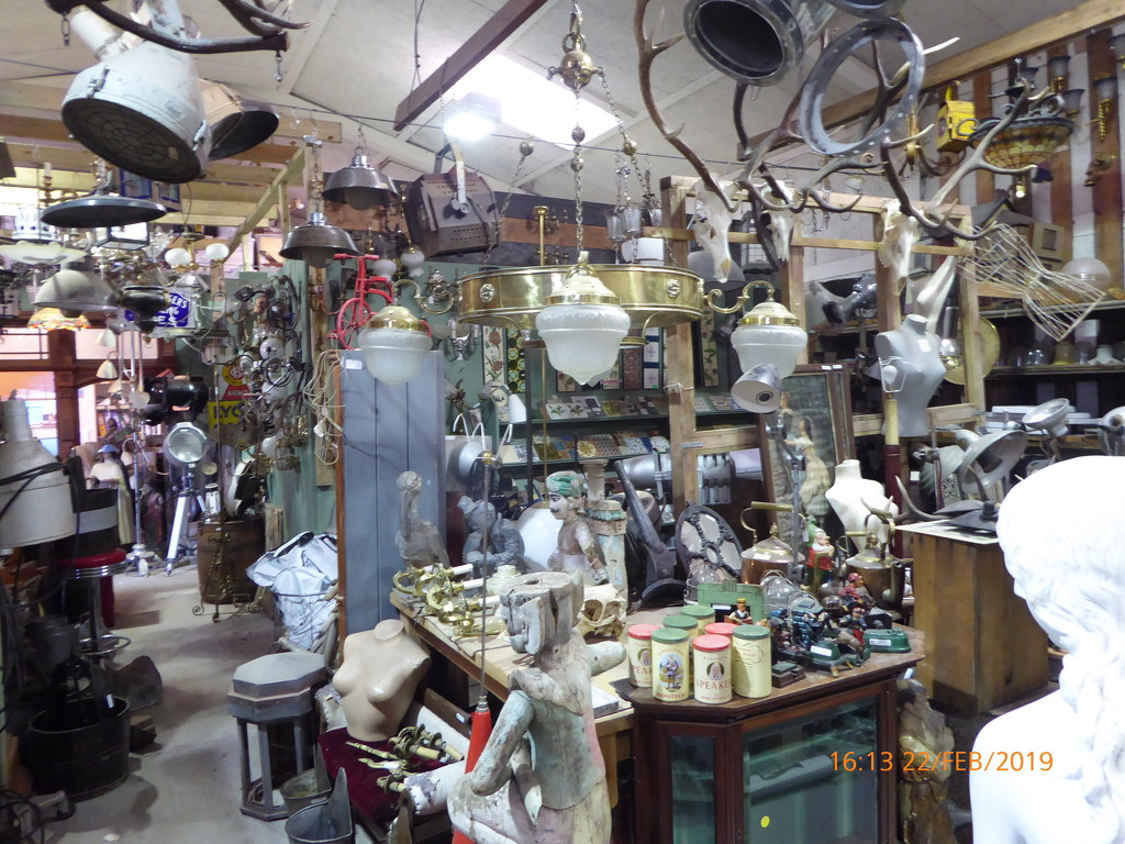 So many items at our local reclamation yard.   by snowy